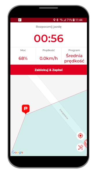 Hulaj app parkowanie